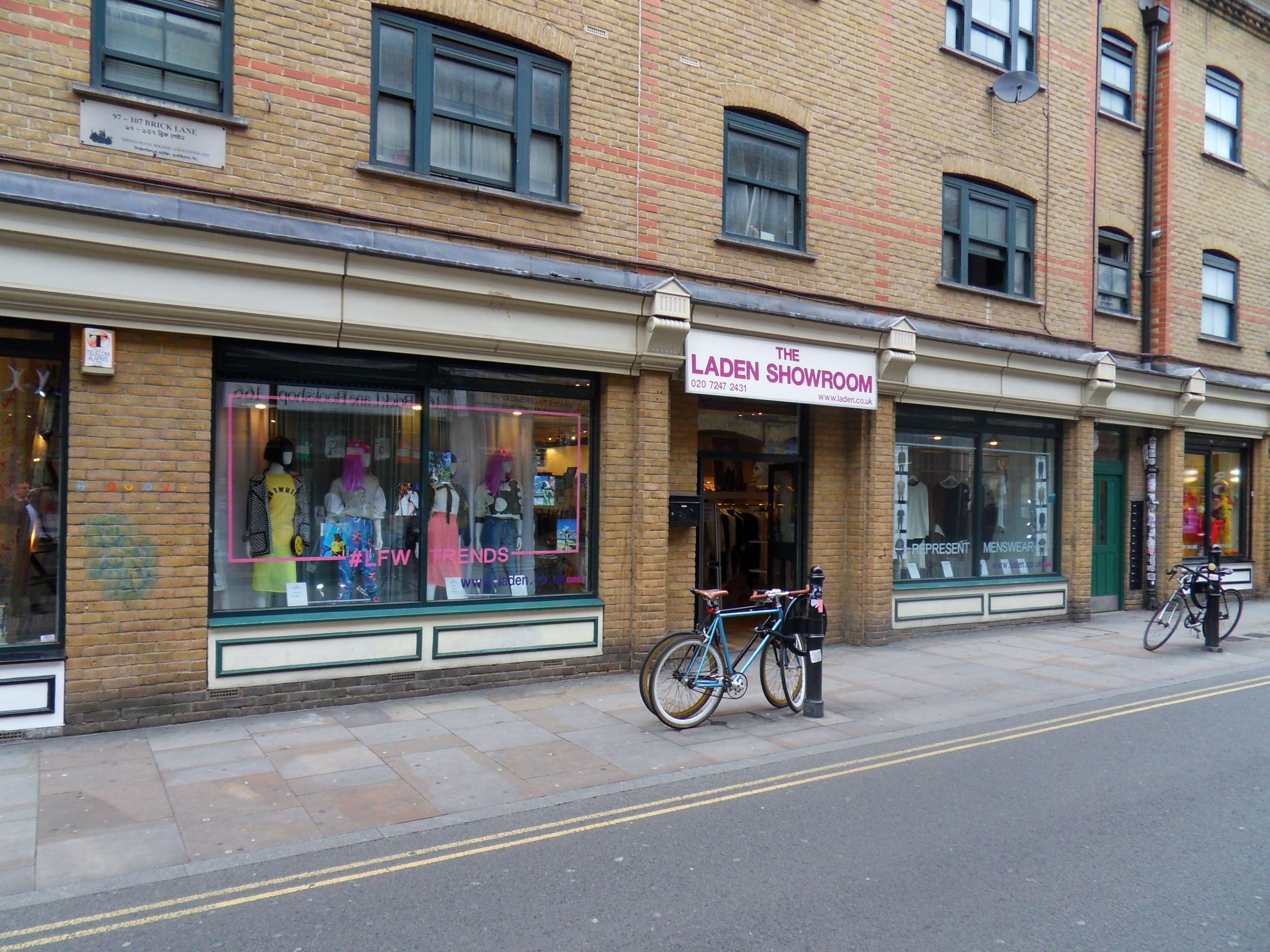 Double Fronted Retail Premises To Let On Brick Lane In