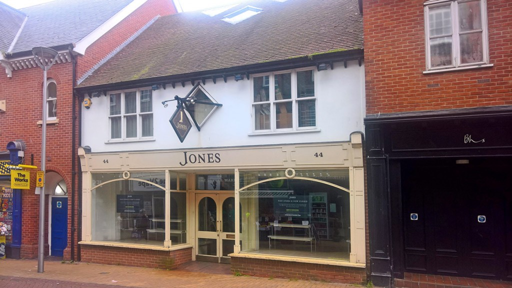 TWO STOREY RETAIL PREMISES IN IPSWICH TOWN CENTRE
