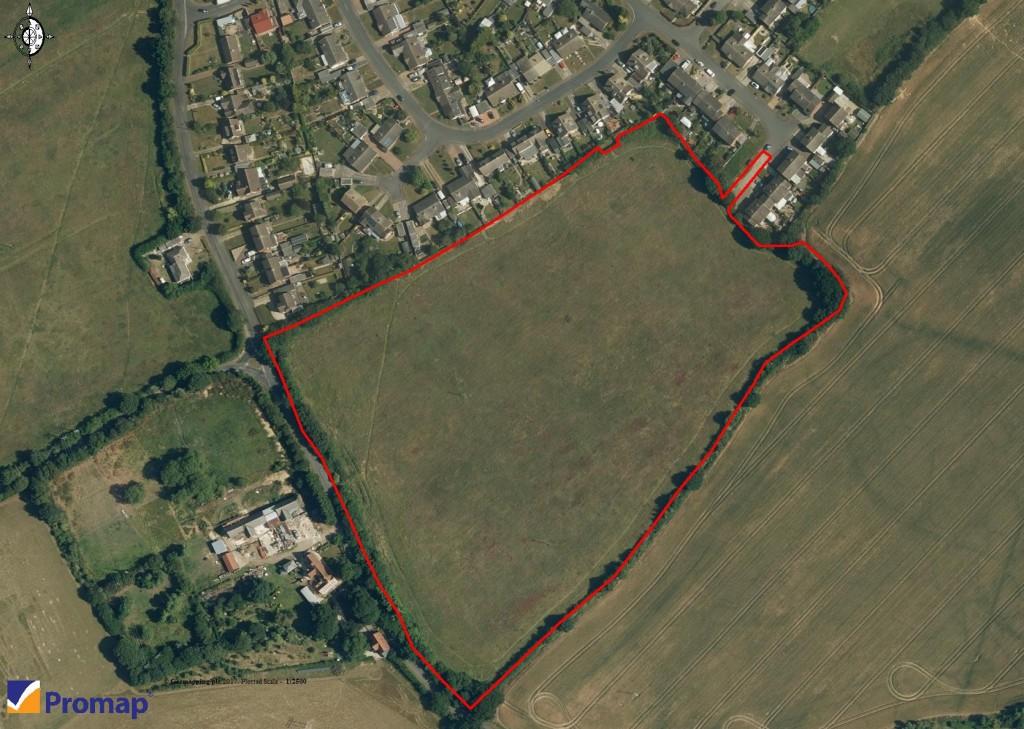 Aerial Plan 2 - Mill Lane, Cressing (indicative boundaries)