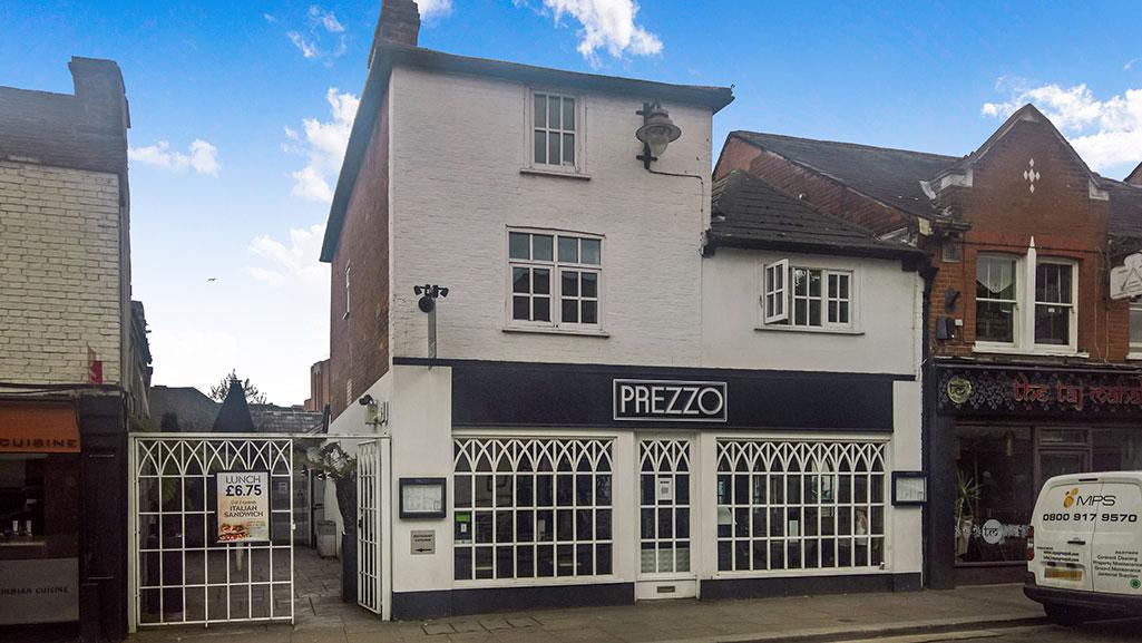 Former Prezzo Restaurant To Let In Chelmsford Kemsley Llp